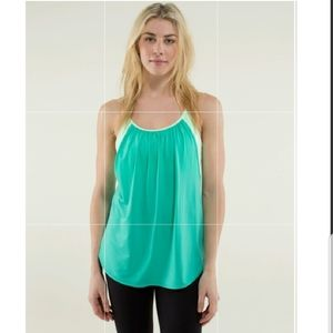 "Lululemon ""TUCK ME IN"" TANK TOP Size 4/Small Nwot"